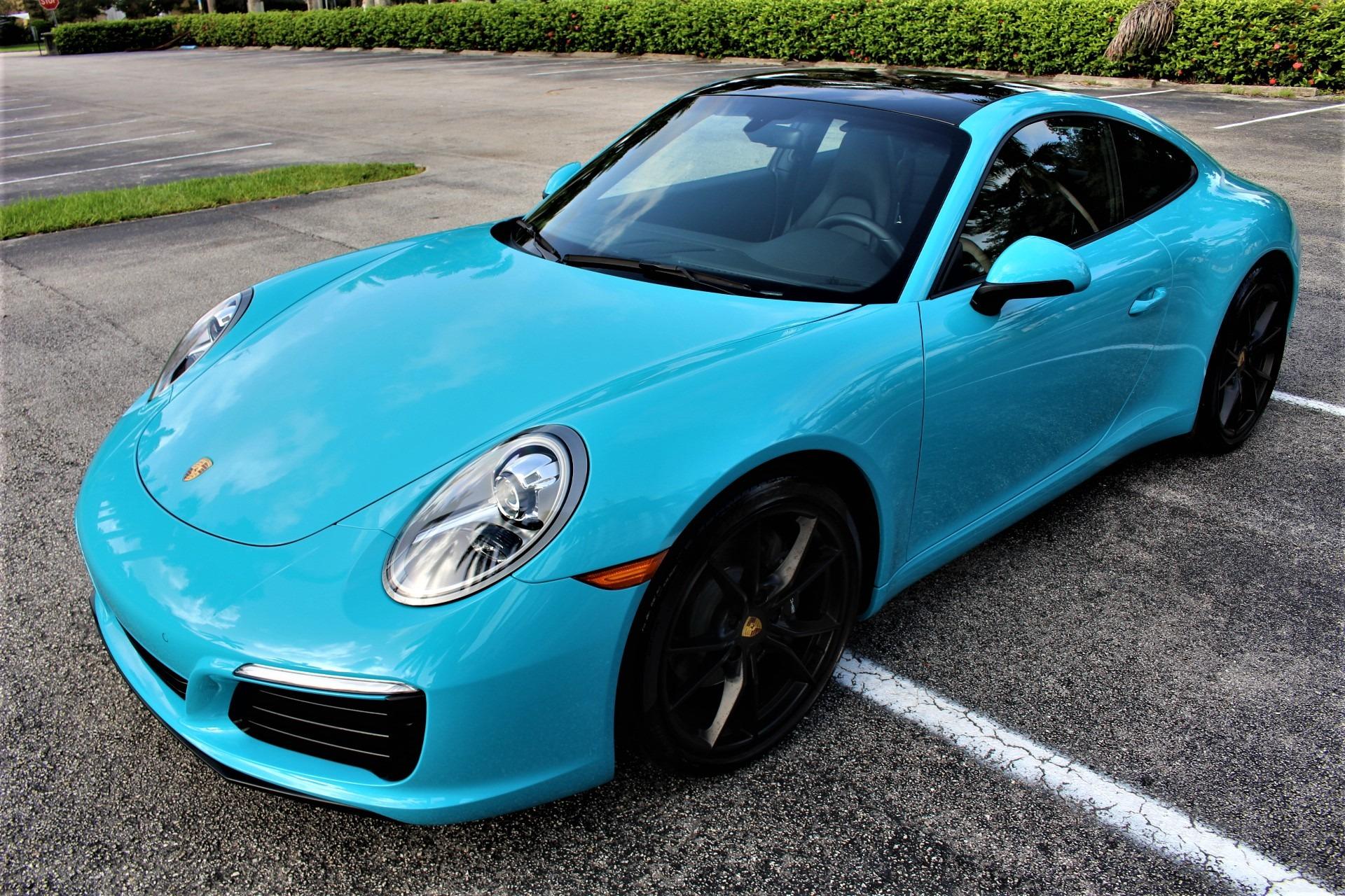 Used 2017 Porsche 911 Carrera for sale $83,850 at The Gables Sports Cars in Miami FL 33146 4