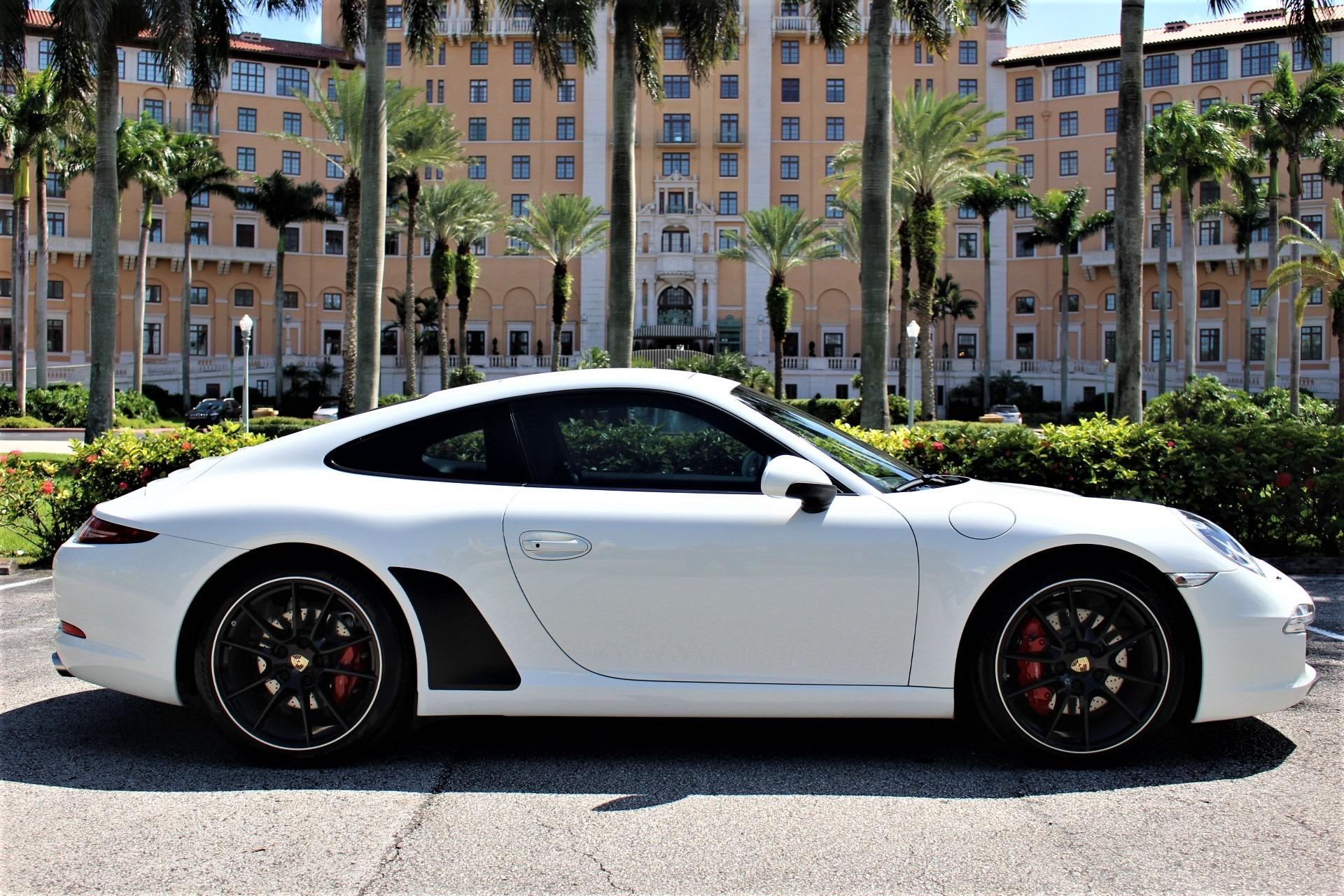 Used 2013 Porsche 911 Carrera S for sale $67,850 at The Gables Sports Cars in Miami FL 33146 1