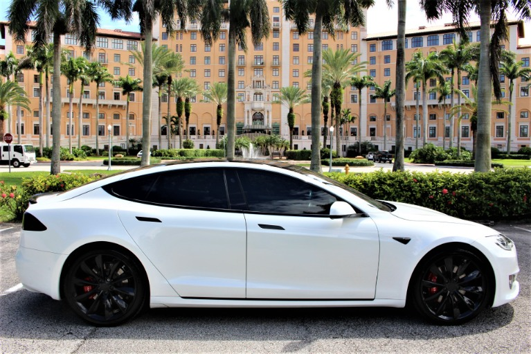 Used 2017 Tesla Model S 100D for sale $65,850 at The Gables Sports Cars in Miami FL