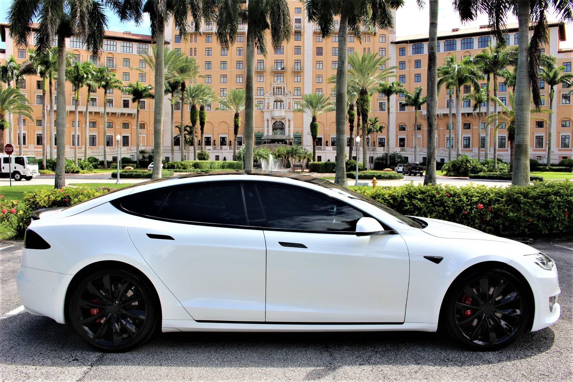 Used 2017 Tesla Model S 100D for sale $65,850 at The Gables Sports Cars in Miami FL 33146 1