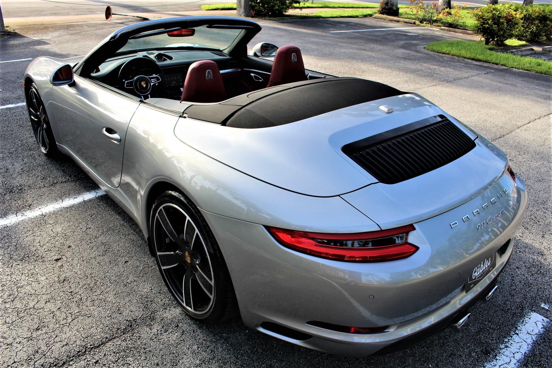 Used 2017 Porsche 911 Carrera for sale $86,850 at The Gables Sports Cars in Miami FL 33146 4