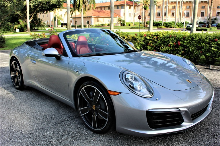 Used 2017 Porsche 911 Carrera for sale $86,850 at The Gables Sports Cars in Miami FL