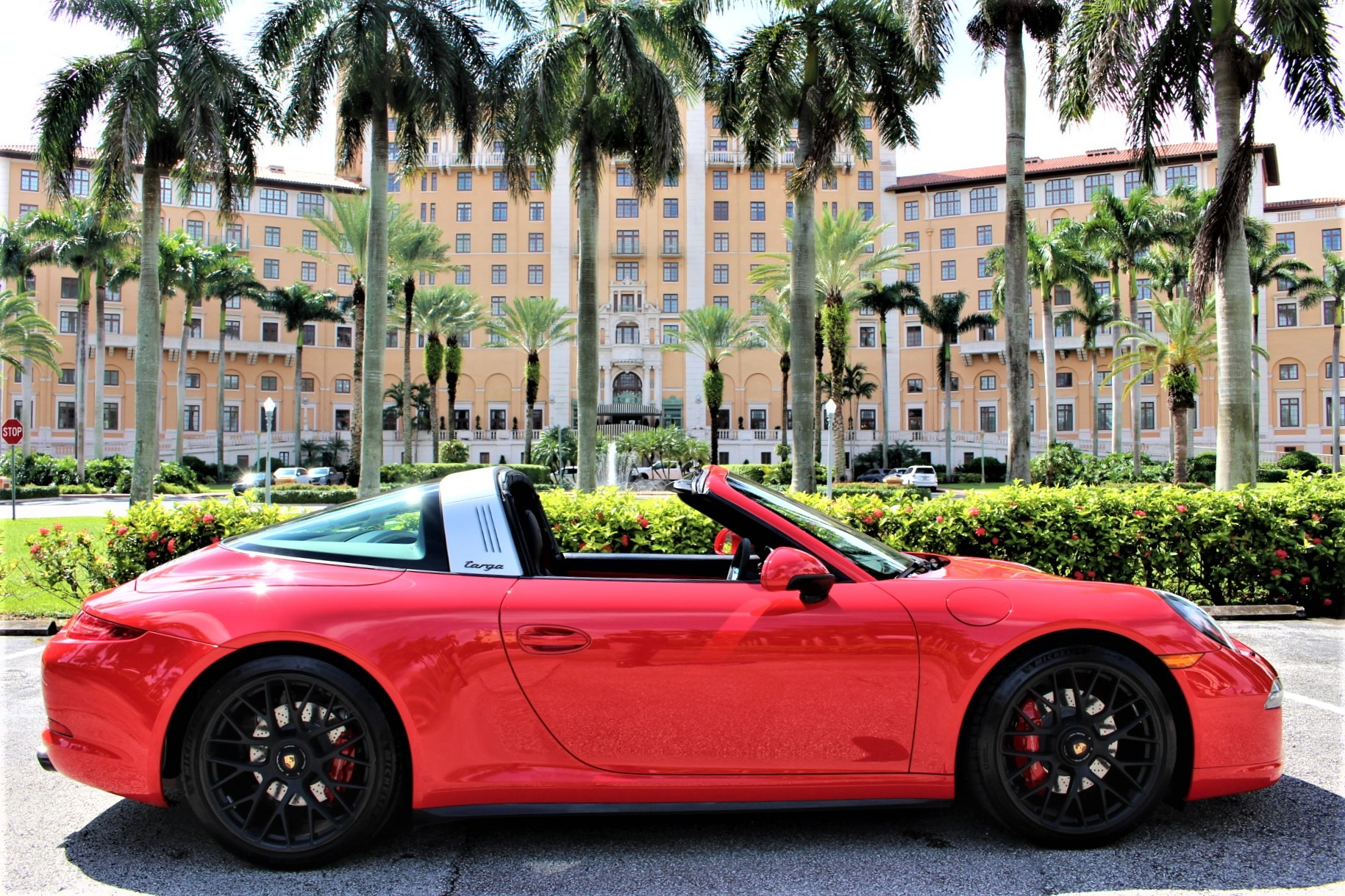 Used 2016 Porsche 911 Targa 4 GTS for sale Sold at The Gables Sports Cars in Miami FL 33146 3