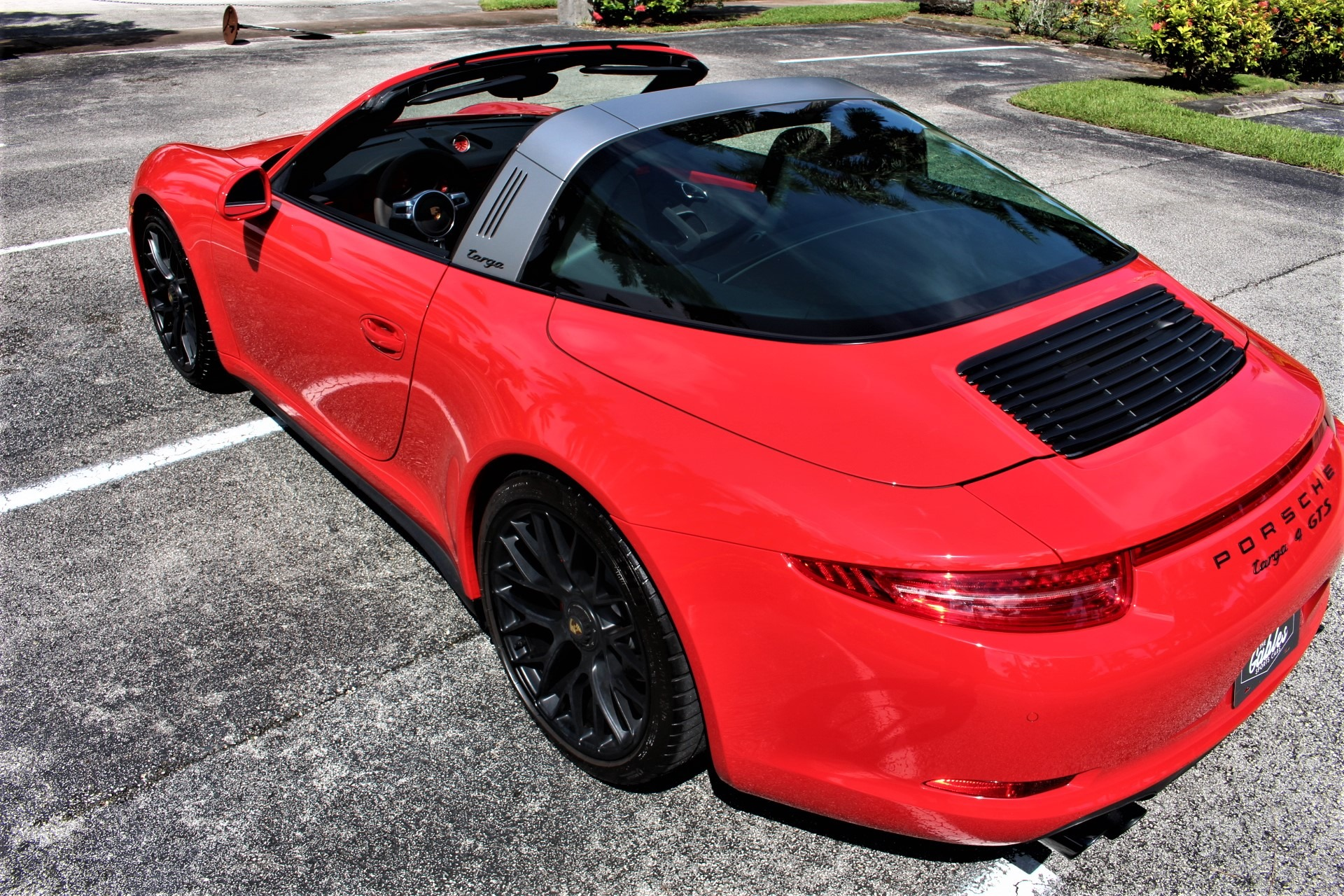 Used 2016 Porsche 911 Targa 4 GTS for sale Sold at The Gables Sports Cars in Miami FL 33146 1