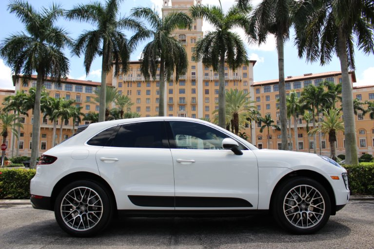 Used 2016 Porsche Macan S for sale $38,850 at The Gables Sports Cars in Miami FL