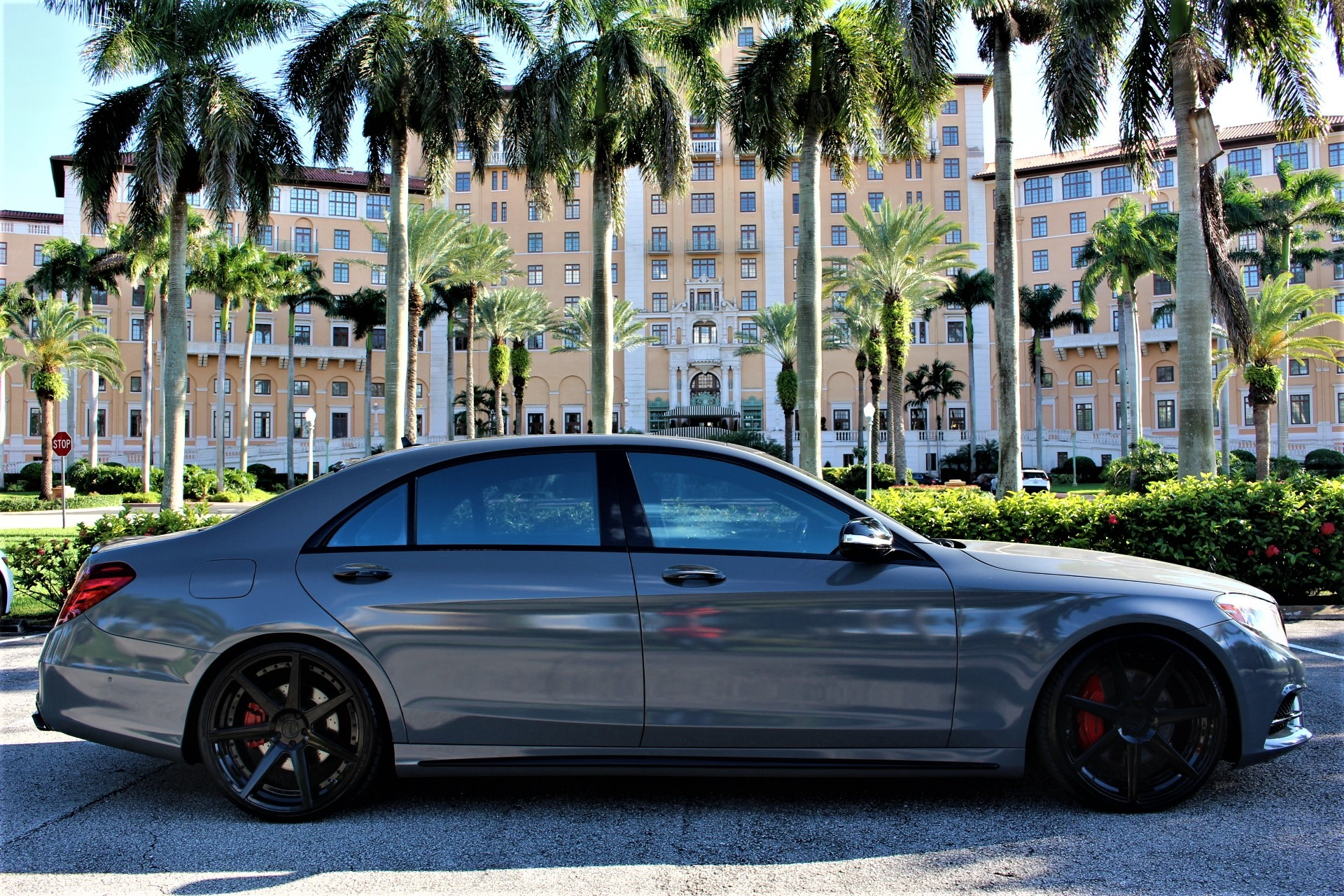 Used 2014 Mercedes-Benz S-Class S 550 for sale Sold at The Gables Sports Cars in Miami FL 33146 1