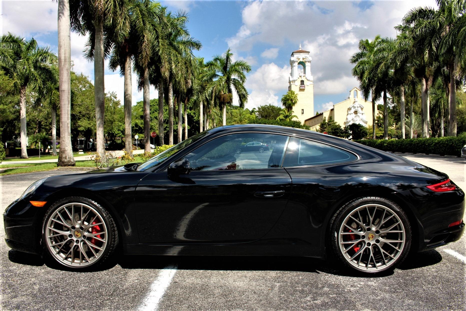 Used 2017 Porsche 911 Carrera S for sale $81,850 at The Gables Sports Cars in Miami FL 33146 4