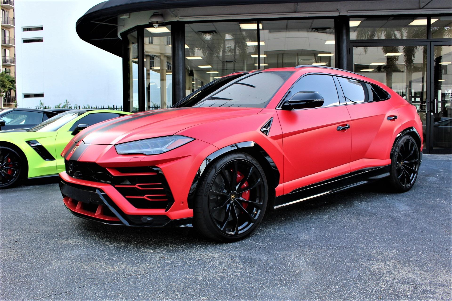 Used 2019 Lamborghini Urus for sale $242,850 at The Gables Sports Cars in Miami FL 33146 2