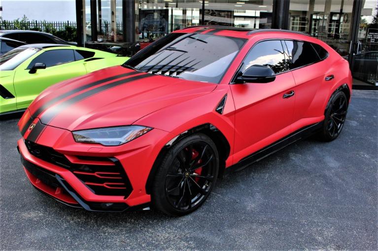 Used 2019 Lamborghini Urus for sale $242,850 at The Gables Sports Cars in Miami FL