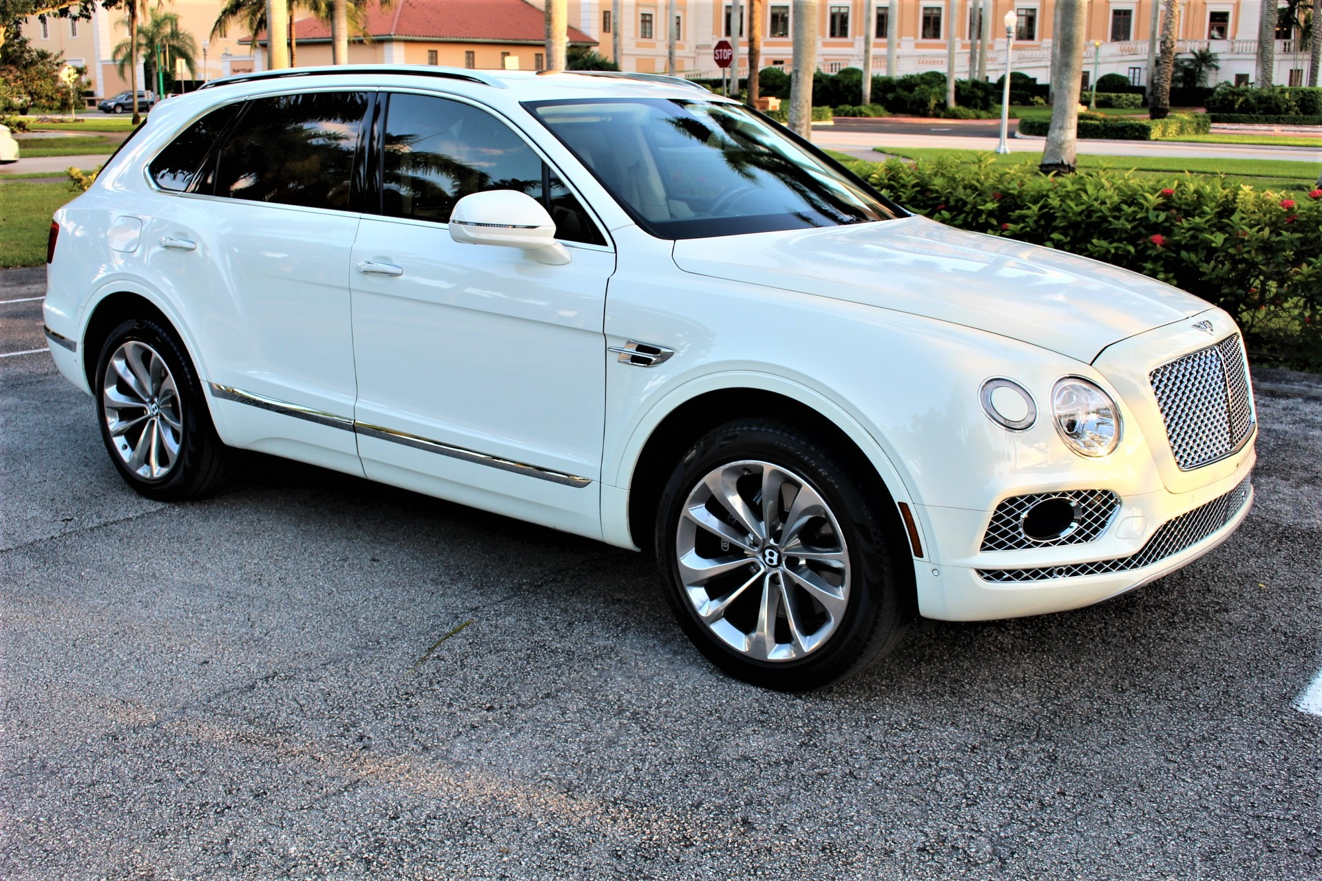Used 2017 Bentley Bentayga W12 for sale Sold at The Gables Sports Cars in Miami FL 33146 3