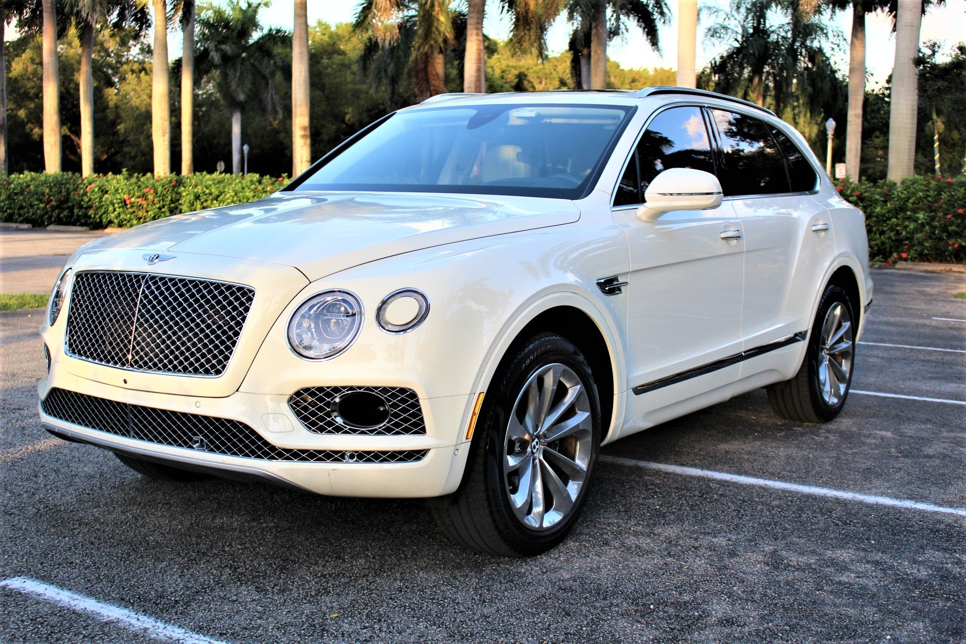 Used 2017 Bentley Bentayga W12 for sale Sold at The Gables Sports Cars in Miami FL 33146 4