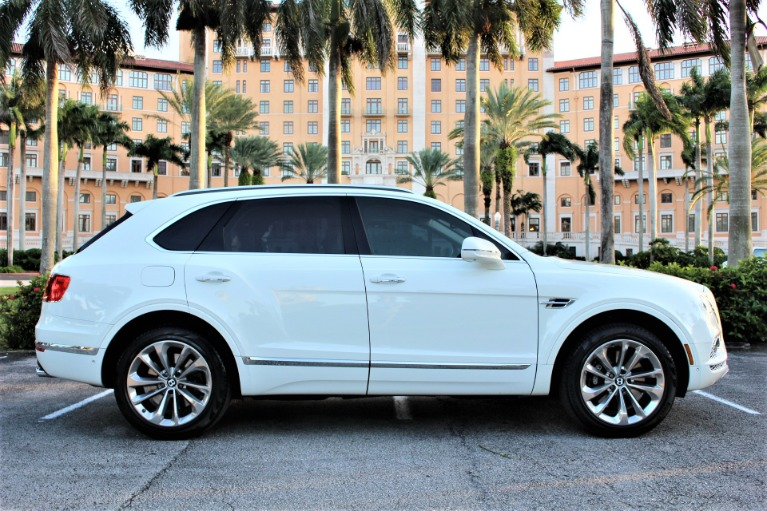 Used 2017 Bentley Bentayga W12 for sale $133,850 at The Gables Sports Cars in Miami FL