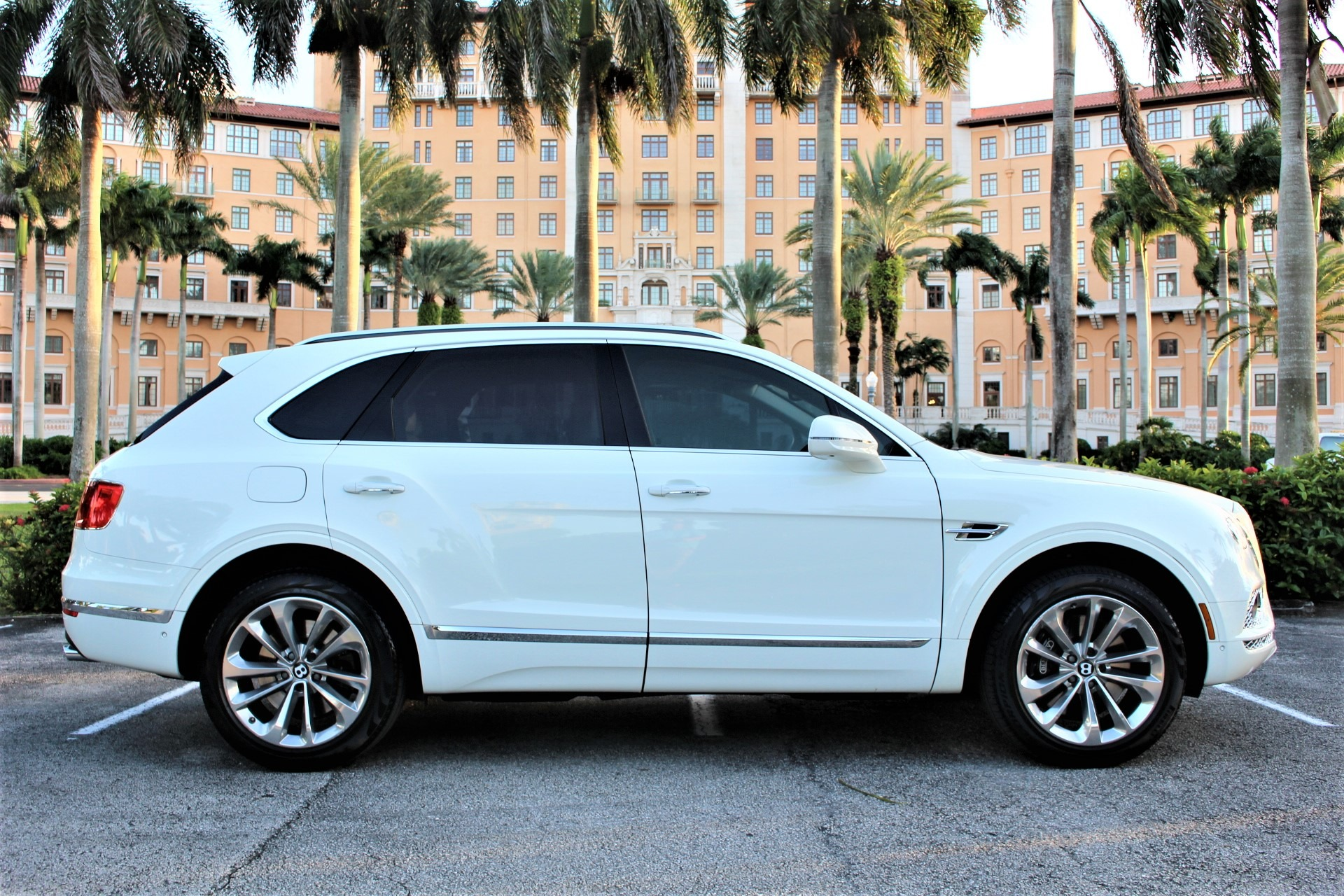 Used 2017 Bentley Bentayga W12 for sale Sold at The Gables Sports Cars in Miami FL 33146 1