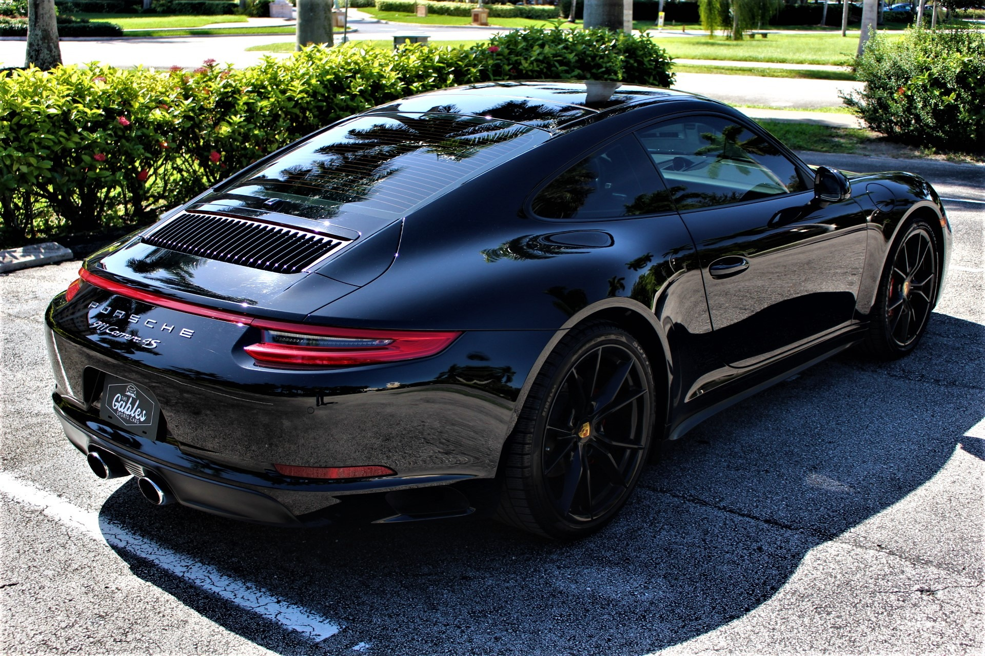 Used 2017 Porsche 911 Carrera 4S for sale Sold at The Gables Sports Cars in Miami FL 33146 1