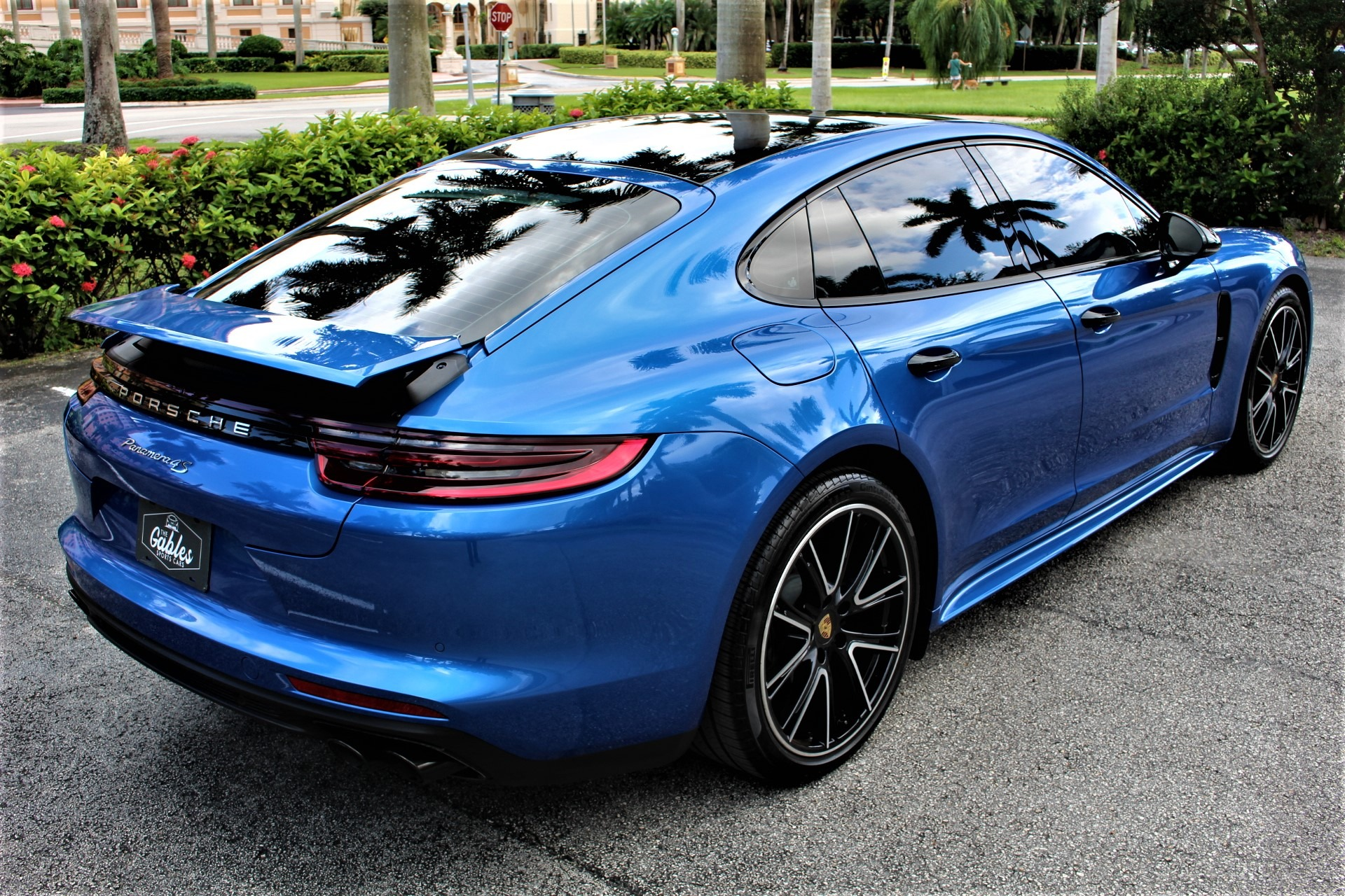 Used 2018 Porsche Panamera 4S for sale Sold at The Gables Sports Cars in Miami FL 33146 3