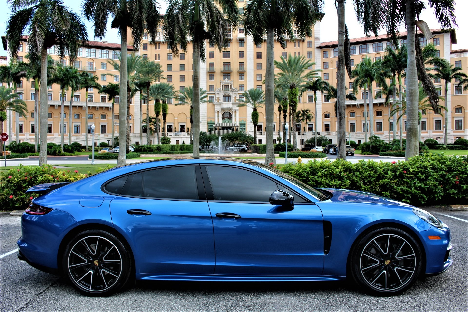 Used 2018 Porsche Panamera 4S for sale Sold at The Gables Sports Cars in Miami FL 33146 1