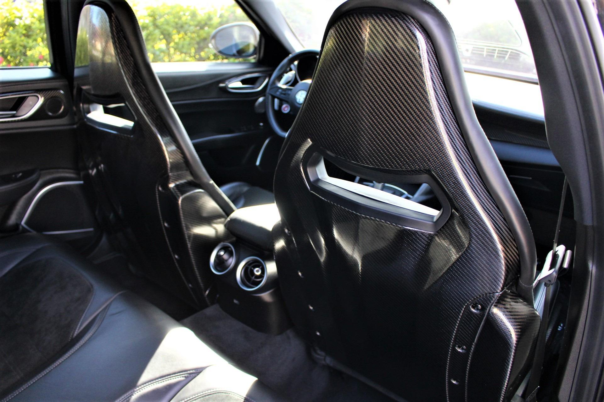 Used 2017 Alfa Romeo Giulia Quadrifoglio for sale Sold at The Gables Sports Cars in Miami FL 33146 3