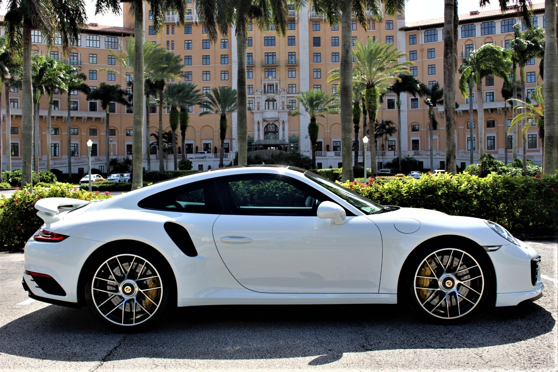 Used 2017 Porsche 911 Turbo S for sale Sold at The Gables Sports Cars in Miami FL 33146 2