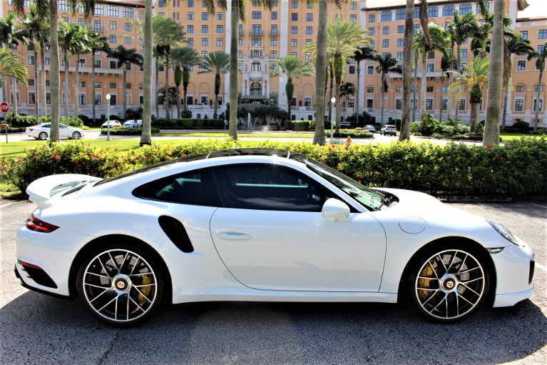 Used 2017 Porsche 911 Turbo S for sale $139,850 at The Gables Sports Cars in Miami FL