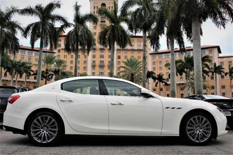 Used 2017 Maserati Ghibli S Q4 for sale $38,950 at The Gables Sports Cars in Miami FL