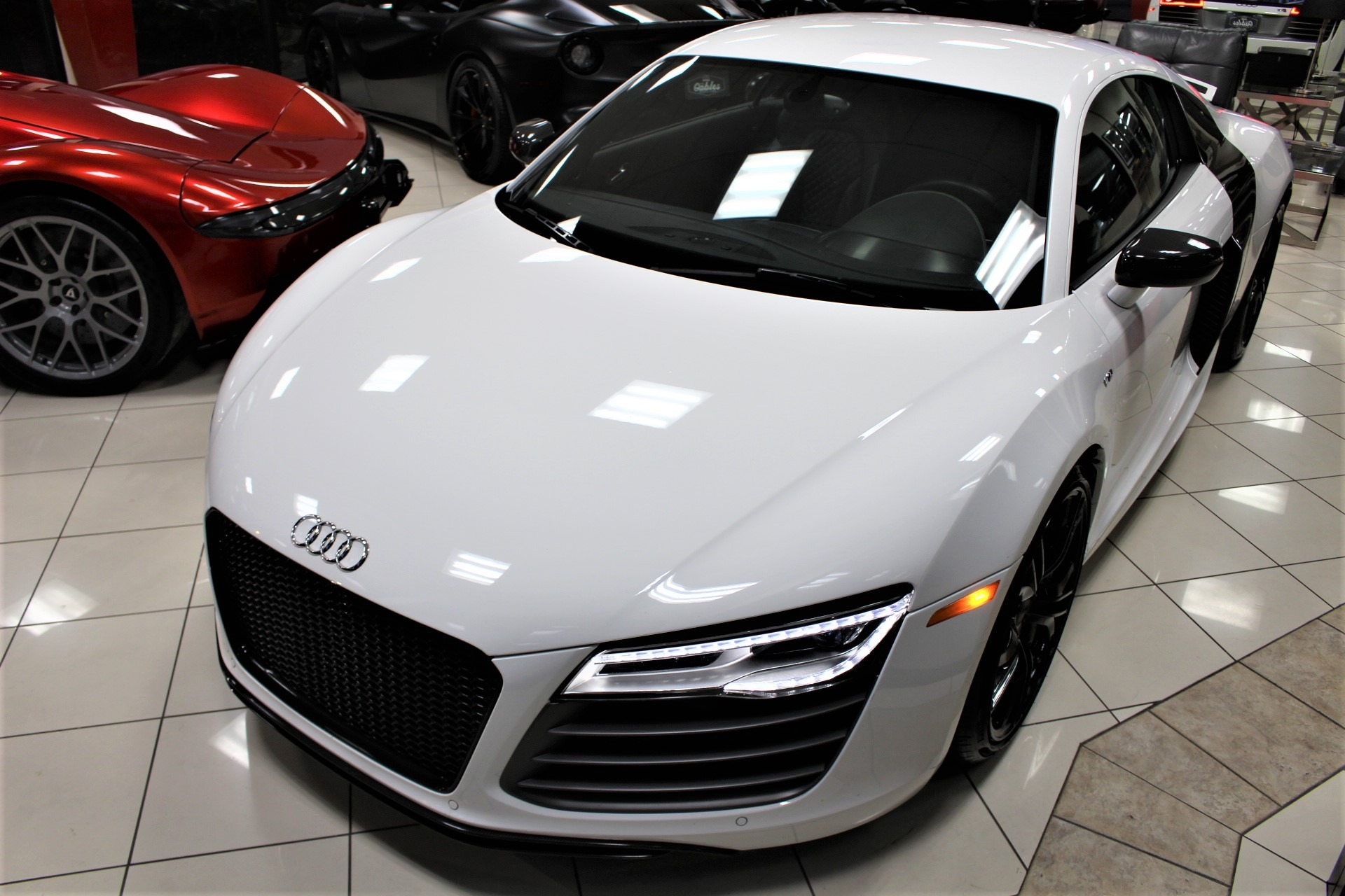 Used 2014 Audi R8 Plus 5.2 quattro for sale Sold at The Gables Sports Cars in Miami FL 33146 2