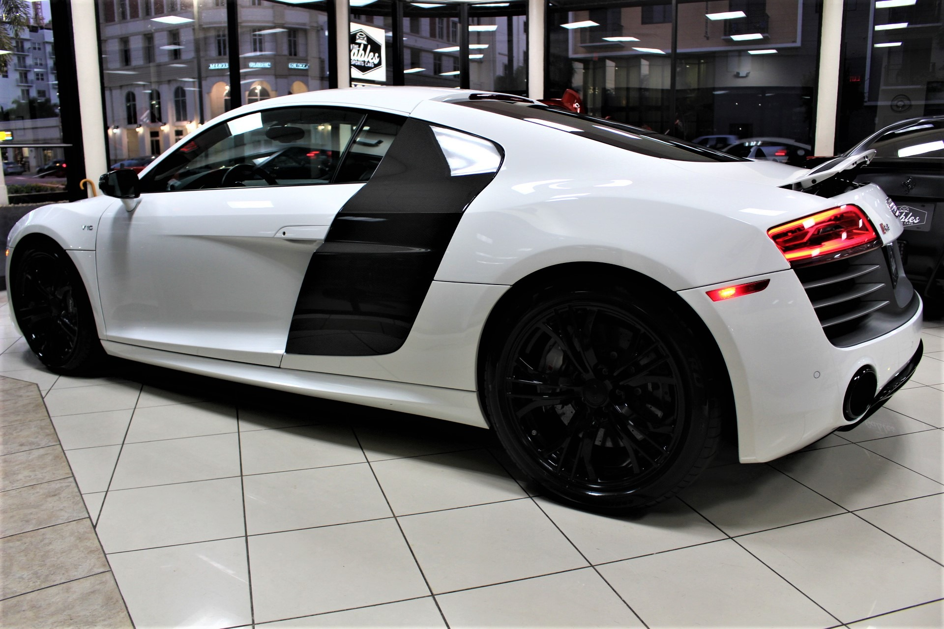 Used 2014 Audi R8 Plus 5.2 quattro for sale Sold at The Gables Sports Cars in Miami FL 33146 3