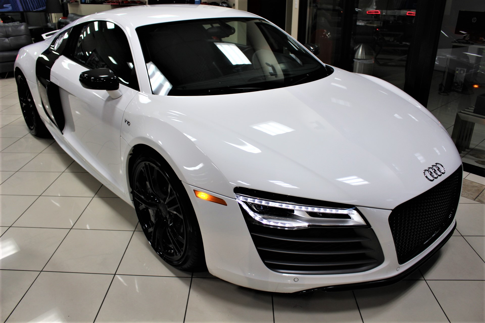 Used 2014 Audi R8 Plus 5.2 quattro for sale Sold at The Gables Sports Cars in Miami FL 33146 1