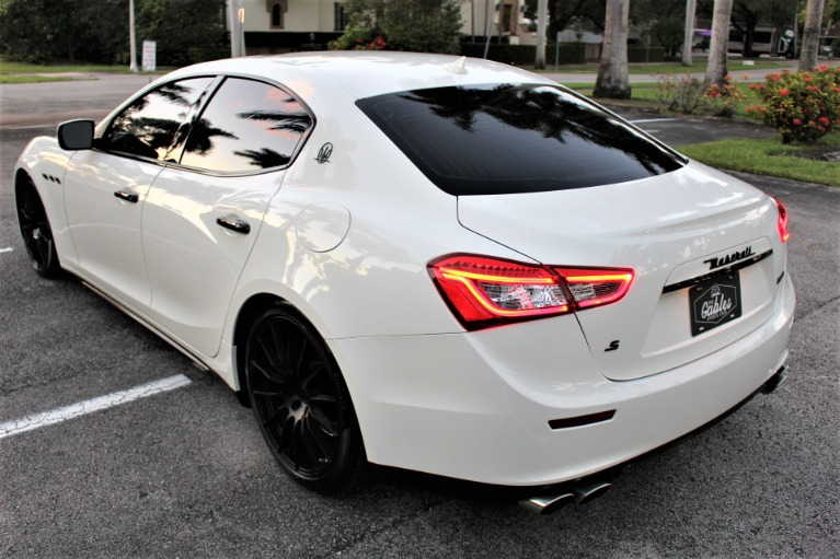 Used 2016 Maserati Ghibli S for sale $29,850 at The Gables Sports Cars in Miami FL