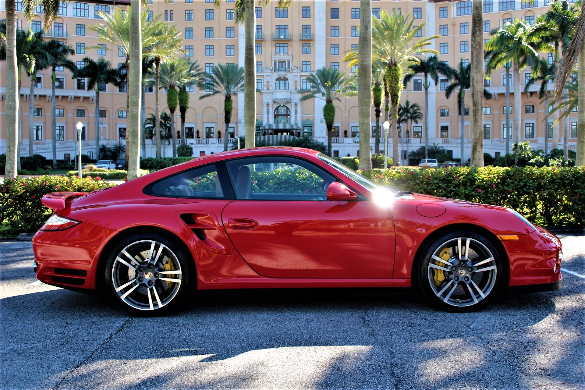 Used 2012 Porsche 911 Turbo for sale Sold at The Gables Sports Cars in Miami FL 33146 2
