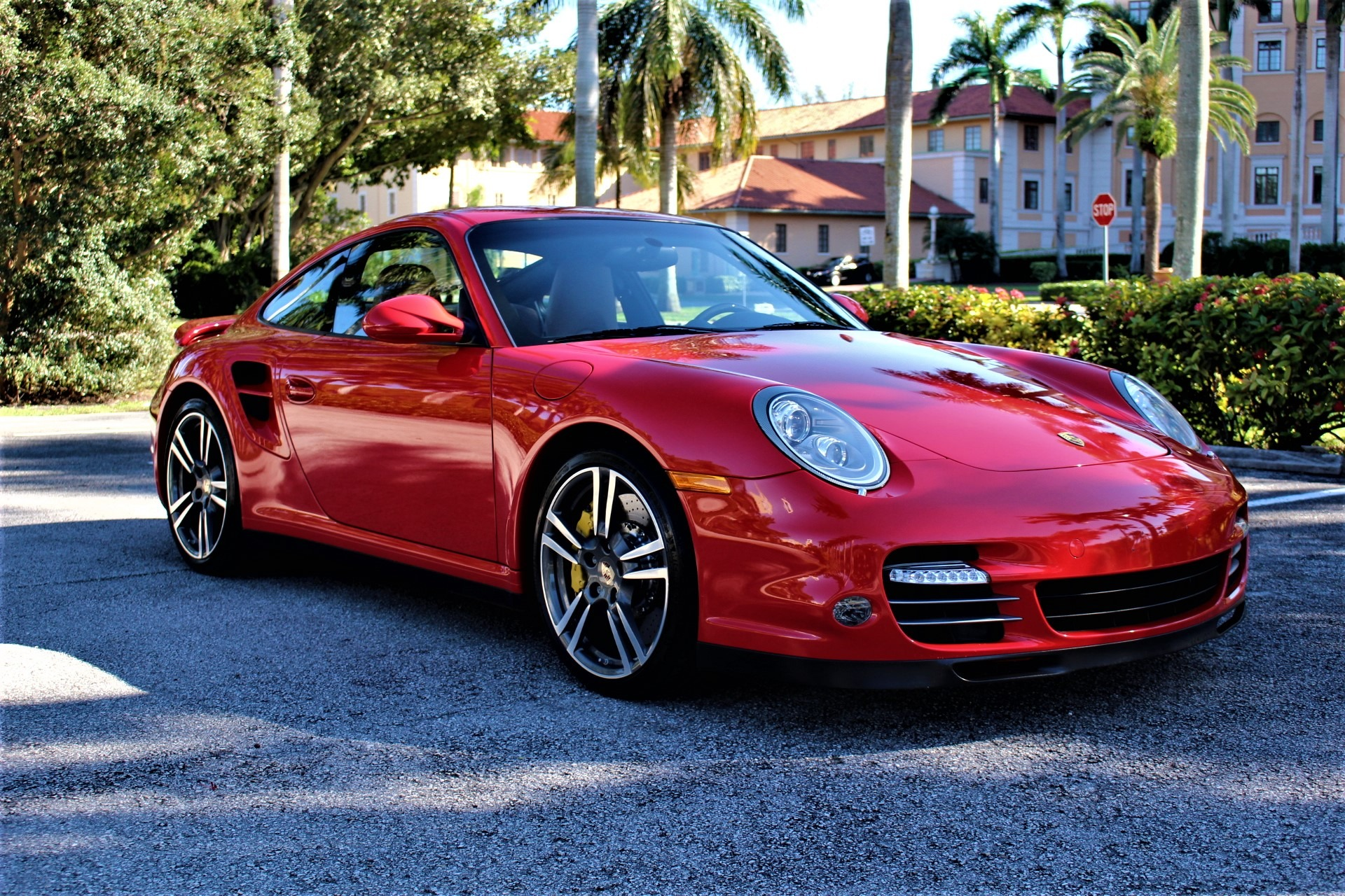 Used 2012 Porsche 911 Turbo for sale Sold at The Gables Sports Cars in Miami FL 33146 4