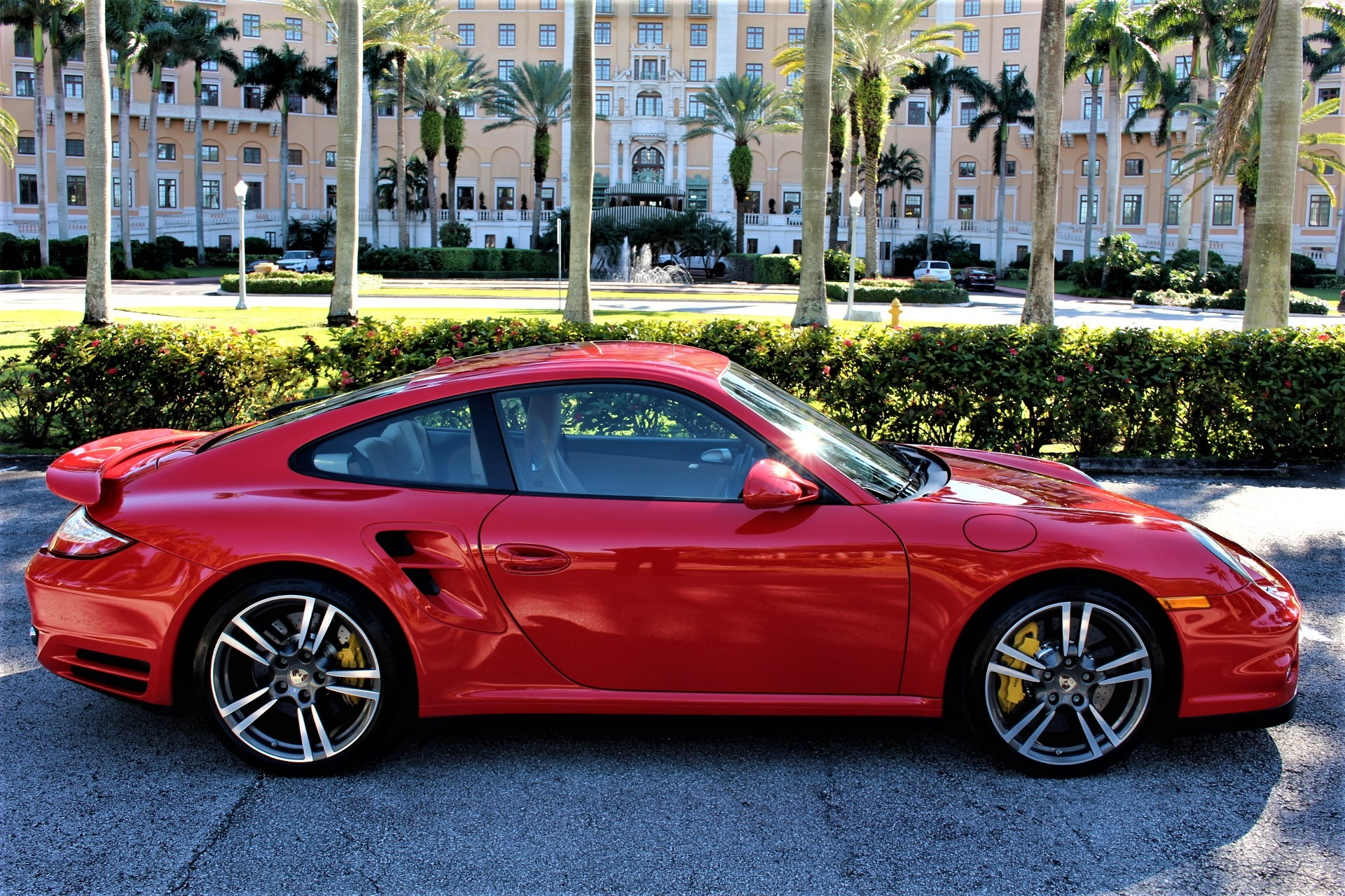 Used 2012 Porsche 911 Turbo for sale $94,850 at The Gables Sports Cars in Miami FL 33146 1
