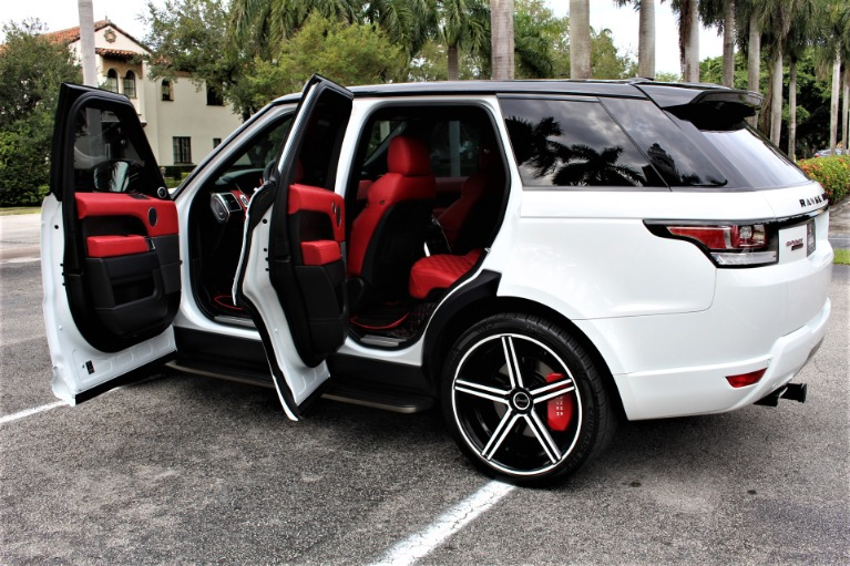 Used 2015 Land Rover Range Rover Sport HSE for sale $58,850 at The Gables Sports Cars in Miami FL