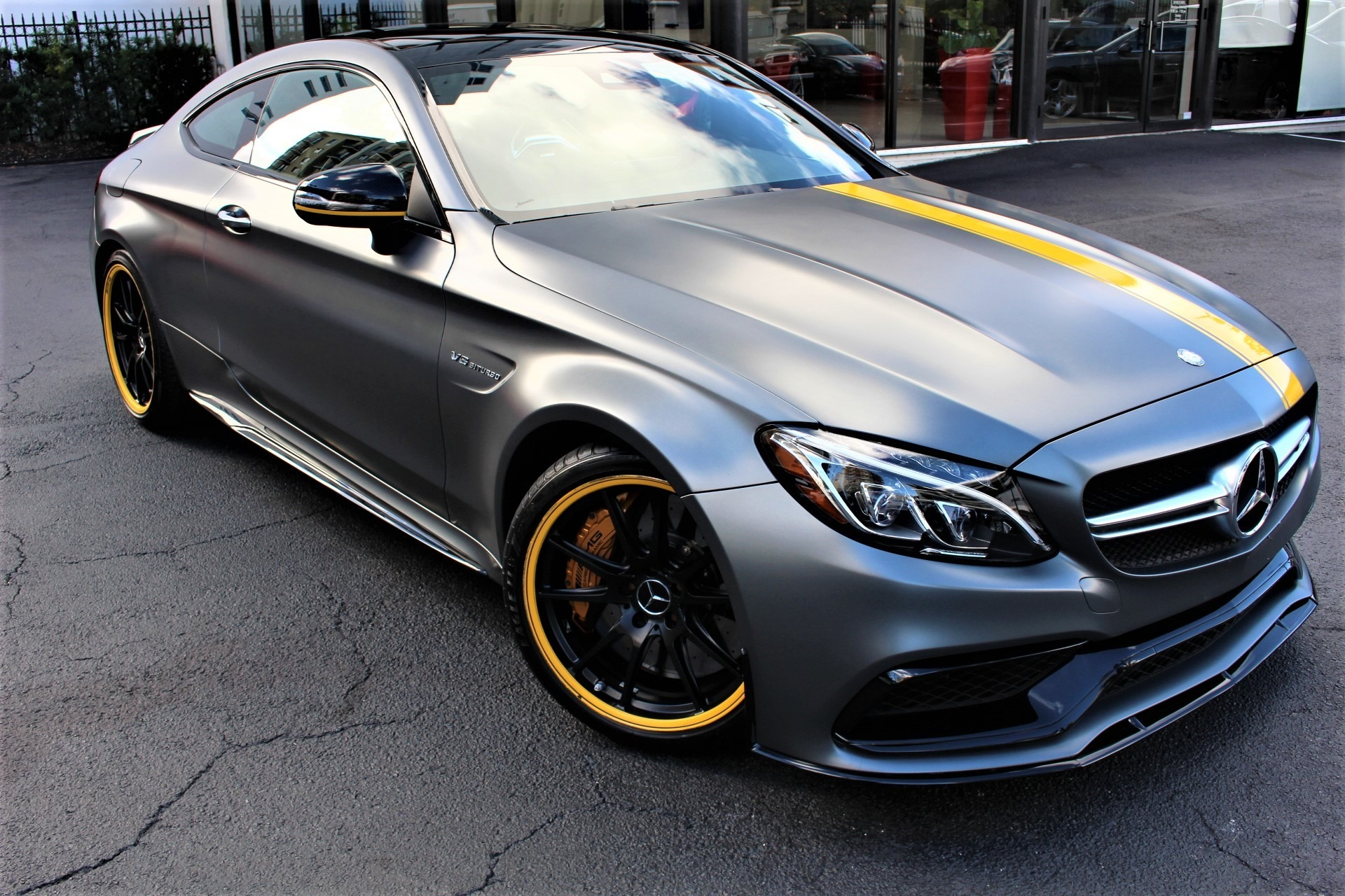 Used 2017 Mercedes-Benz C-Class AMG C 63 S Edition 1 for sale Sold at The Gables Sports Cars in Miami FL 33146 1