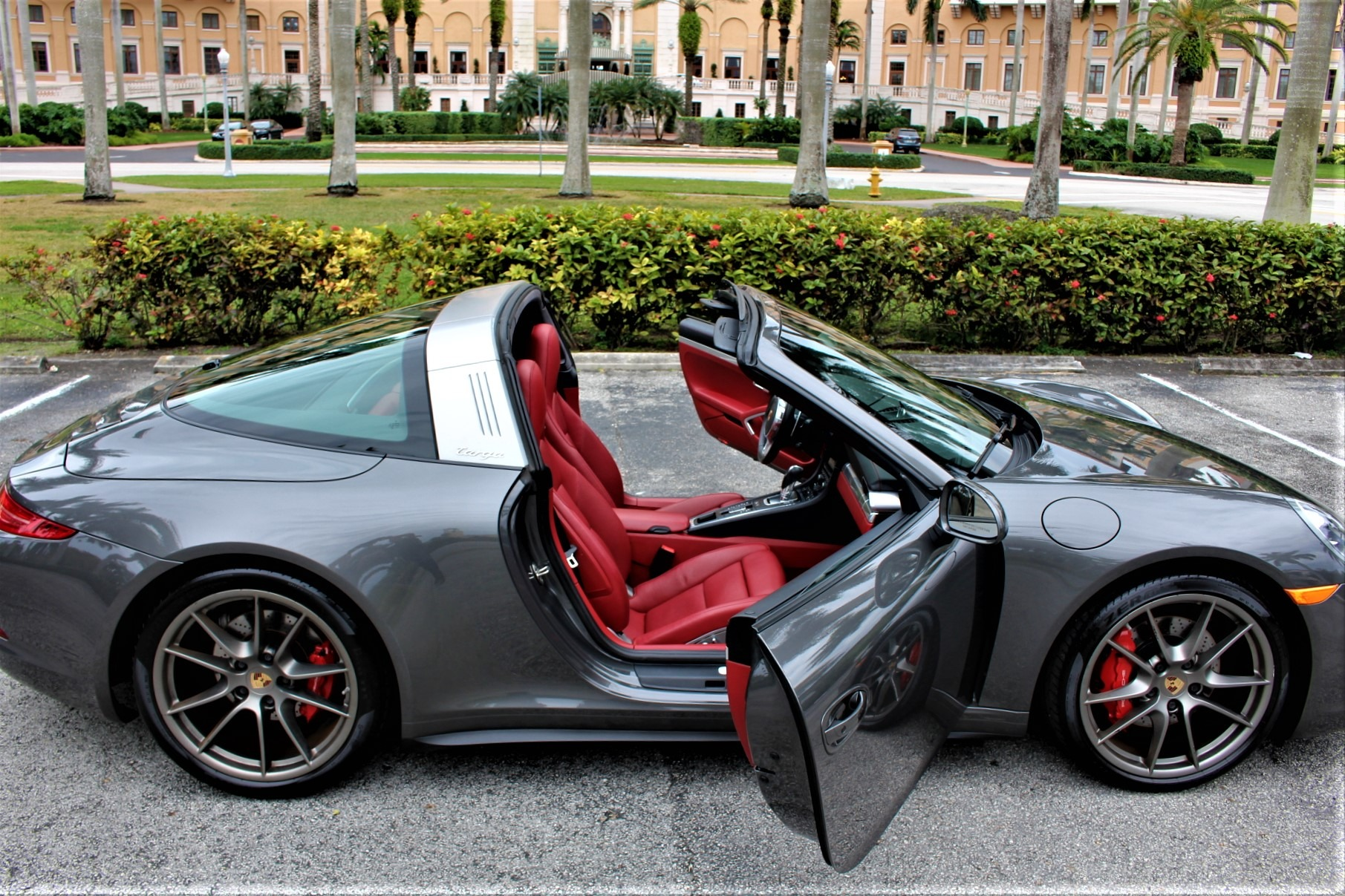 Used 2015 Porsche 911 Targa 4S for sale Sold at The Gables Sports Cars in Miami FL 33146 3