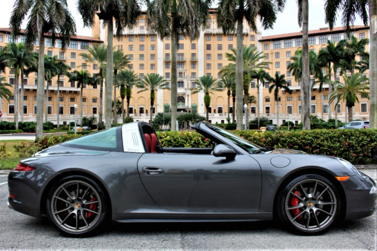 Used 2015 Porsche 911 Targa 4S for sale $91,850 at The Gables Sports Cars in Miami FL