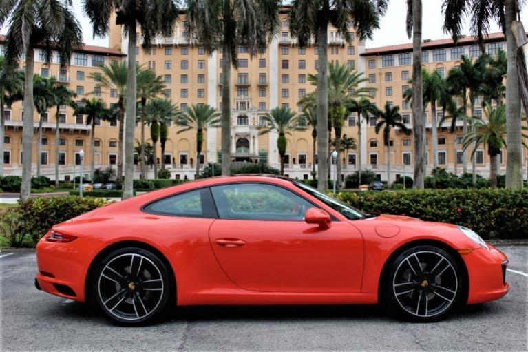 Used 2017 Porsche 911 Carrera for sale $81,850 at The Gables Sports Cars in Miami FL