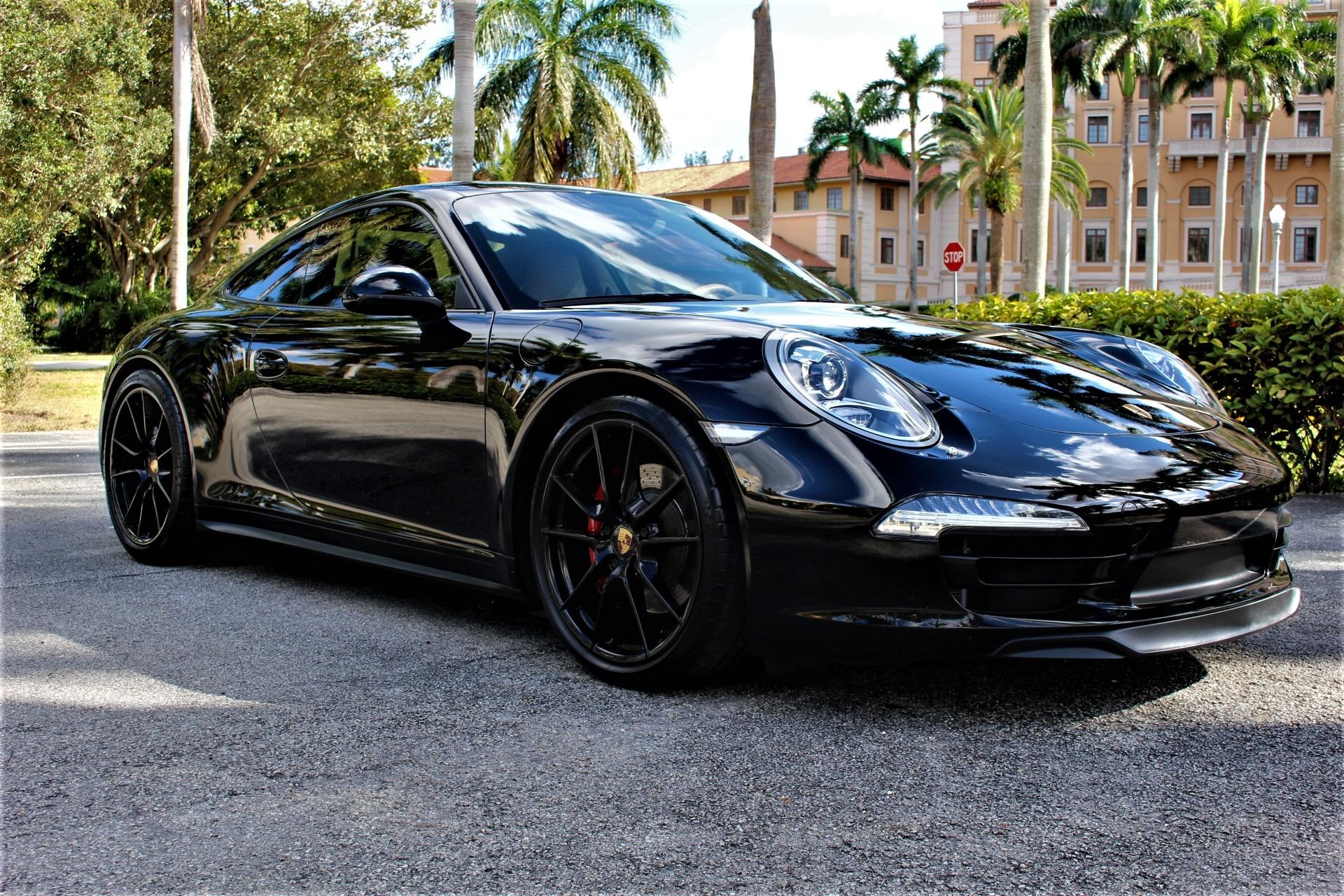 Used 2013 Porsche 911 Carrera 4S for sale $79,850 at The Gables Sports Cars in Miami FL 33146 2