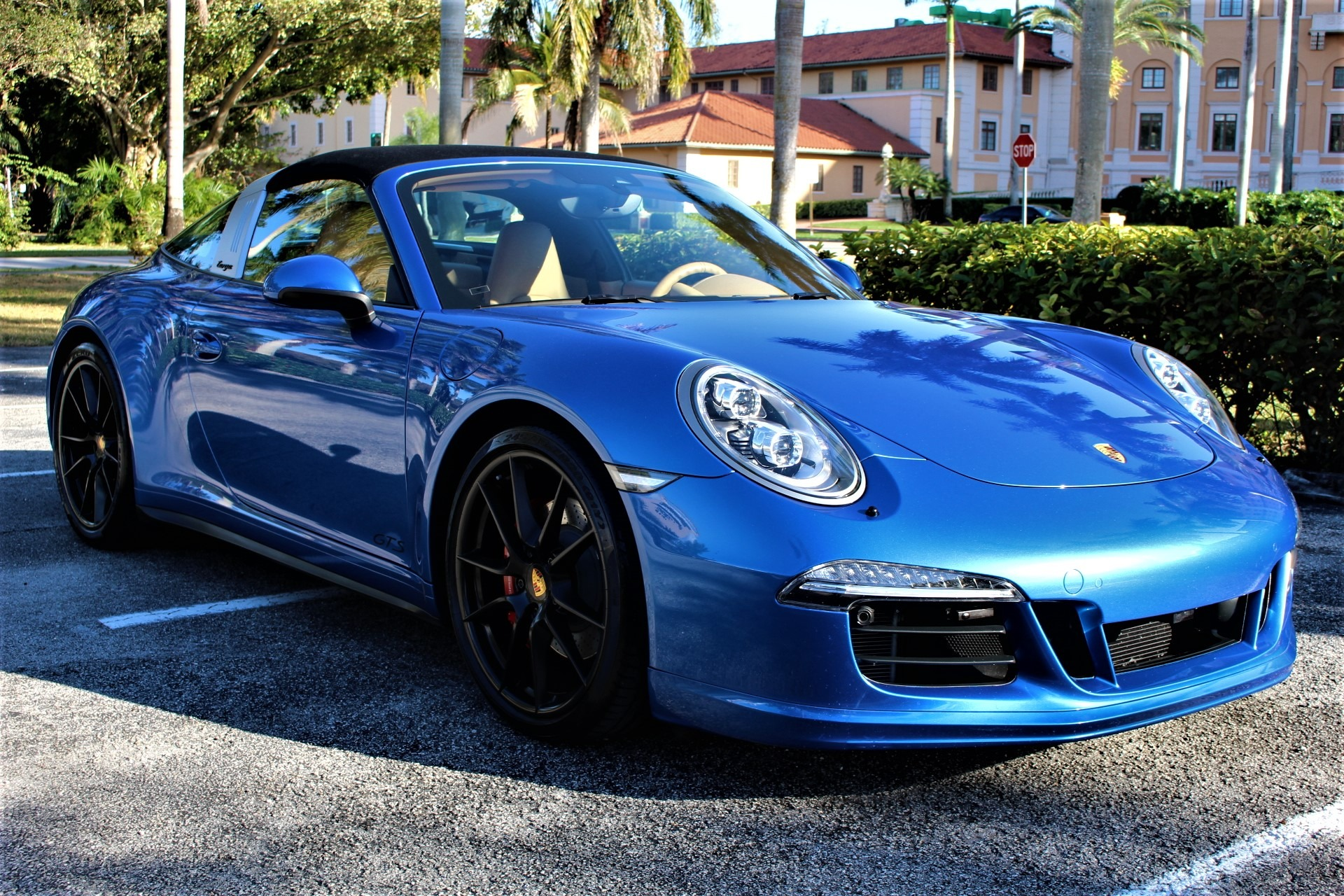 Used 2016 Porsche 911 Targa 4 GTS for sale $119,850 at The Gables Sports Cars in Miami FL 33146 3