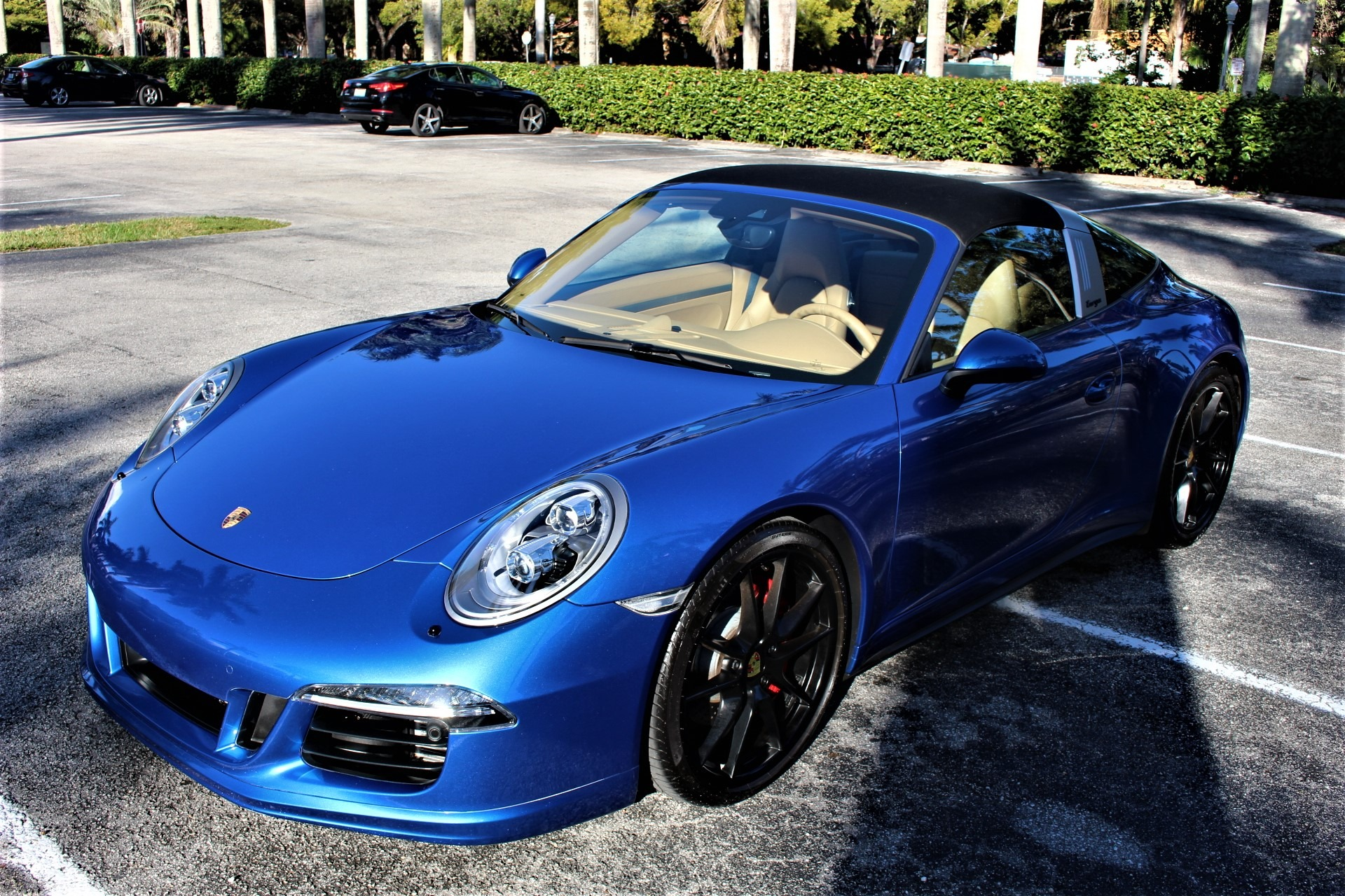 Used 2016 Porsche 911 Targa 4 GTS for sale $119,850 at The Gables Sports Cars in Miami FL 33146 4
