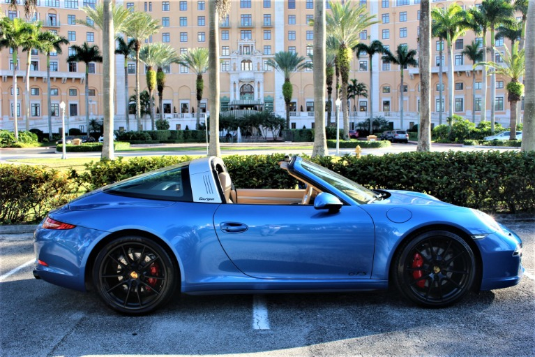 Used 2016 Porsche 911 Targa 4 GTS for sale $119,850 at The Gables Sports Cars in Miami FL