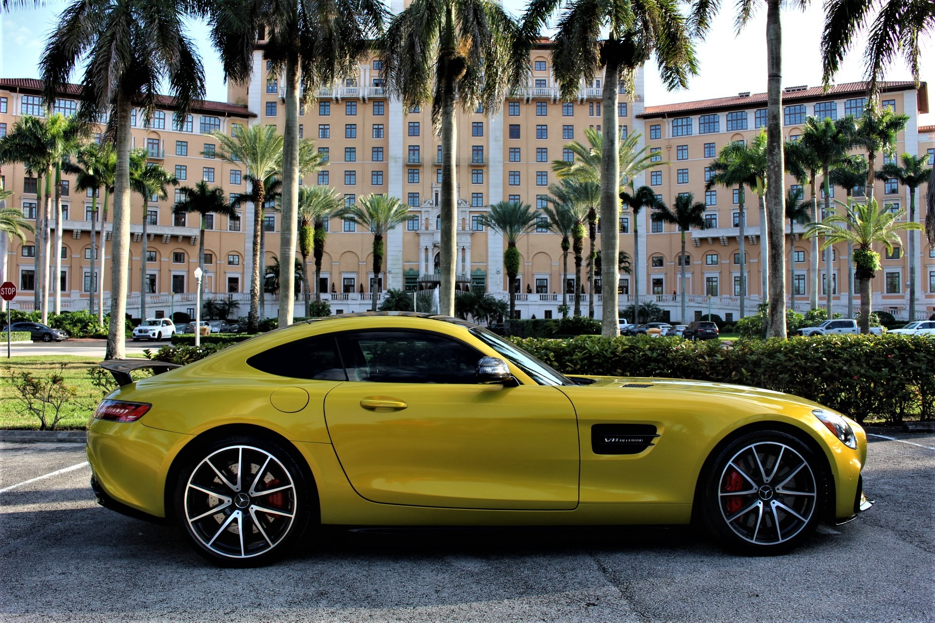 Used 2016 Mercedes-Benz AMG GT S for sale Sold at The Gables Sports Cars in Miami FL 33146 2