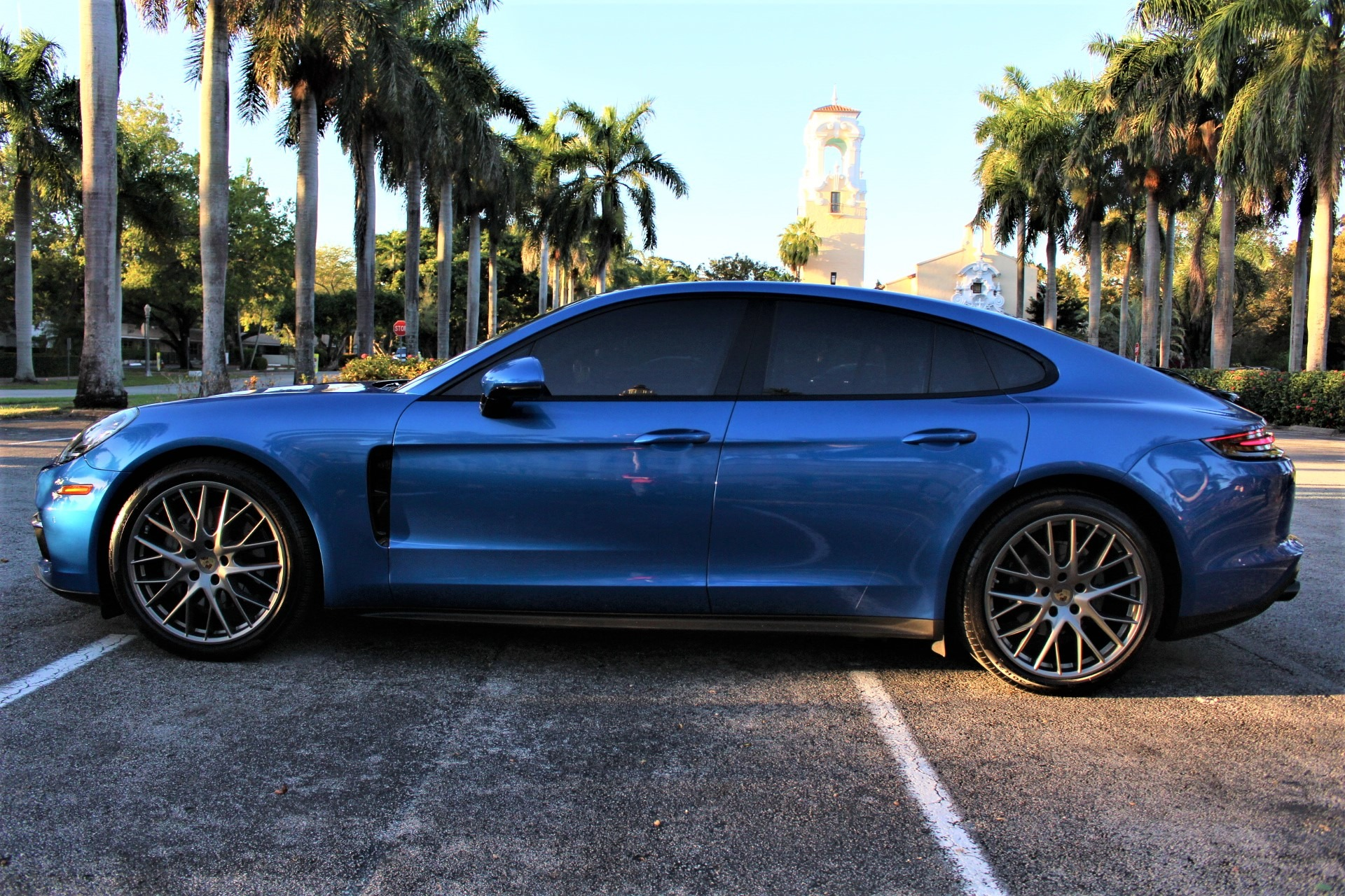 Used 2018 Porsche Panamera 4S for sale $83,850 at The Gables Sports Cars in Miami FL 33146 4