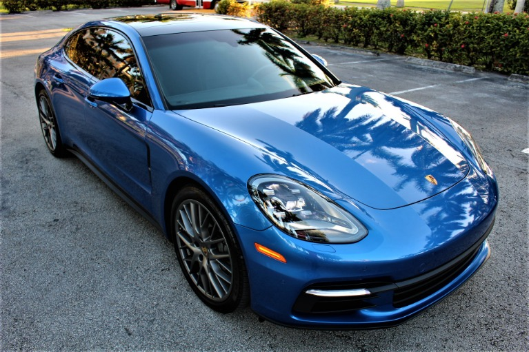 Used 2018 Porsche Panamera 4S for sale $83,850 at The Gables Sports Cars in Miami FL