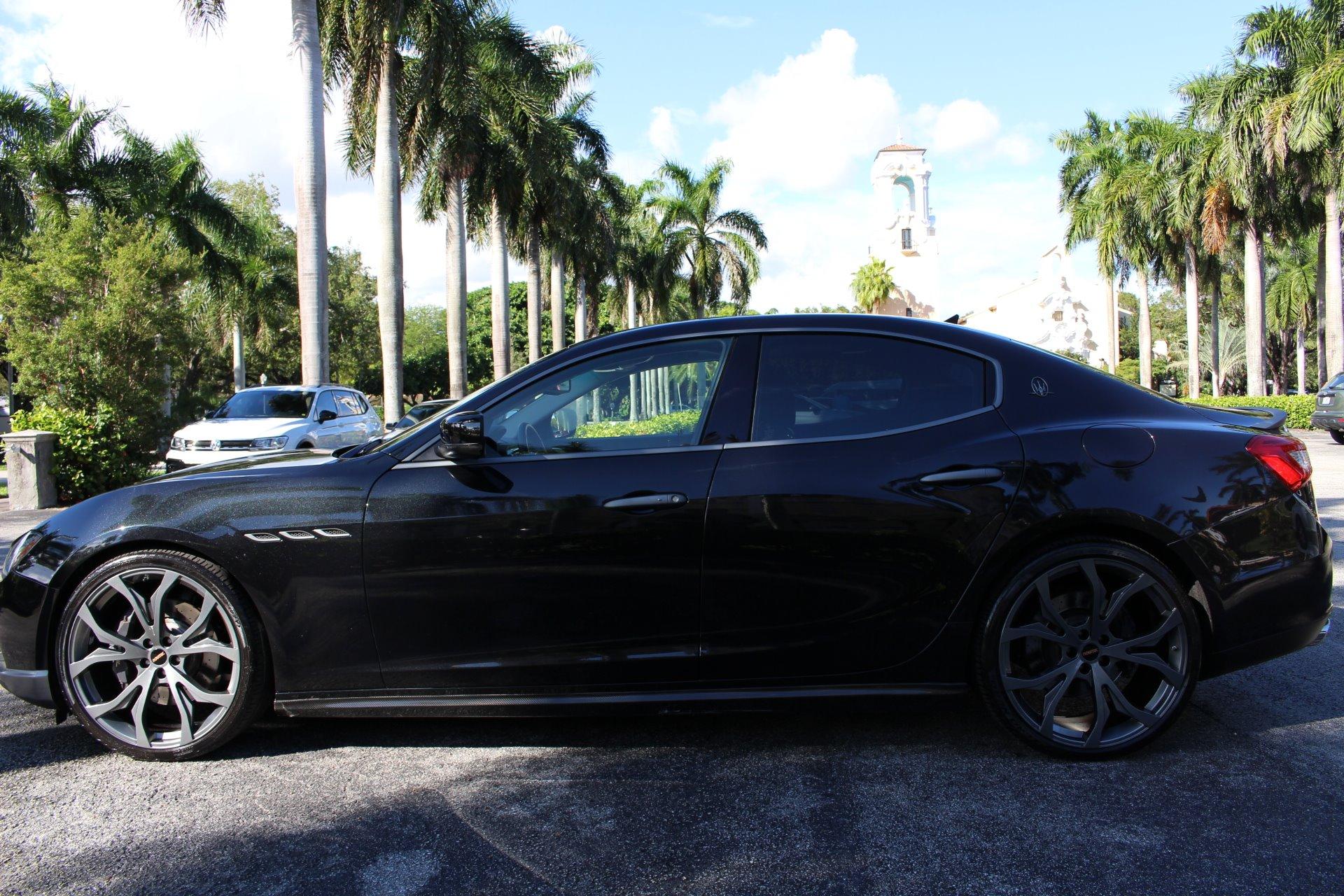 Used 2015 Maserati Ghibli SQ4 Novitec for sale $32,850 at The Gables Sports Cars in Miami FL 33146 3