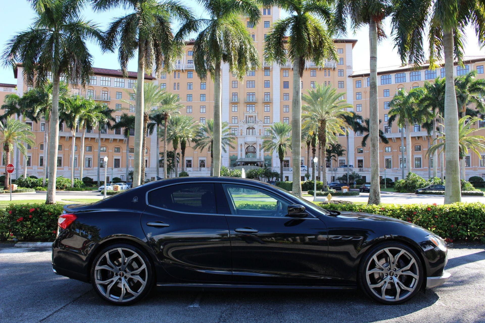 Used 2015 Maserati Ghibli SQ4 Novitec for sale $32,850 at The Gables Sports Cars in Miami FL 33146 1