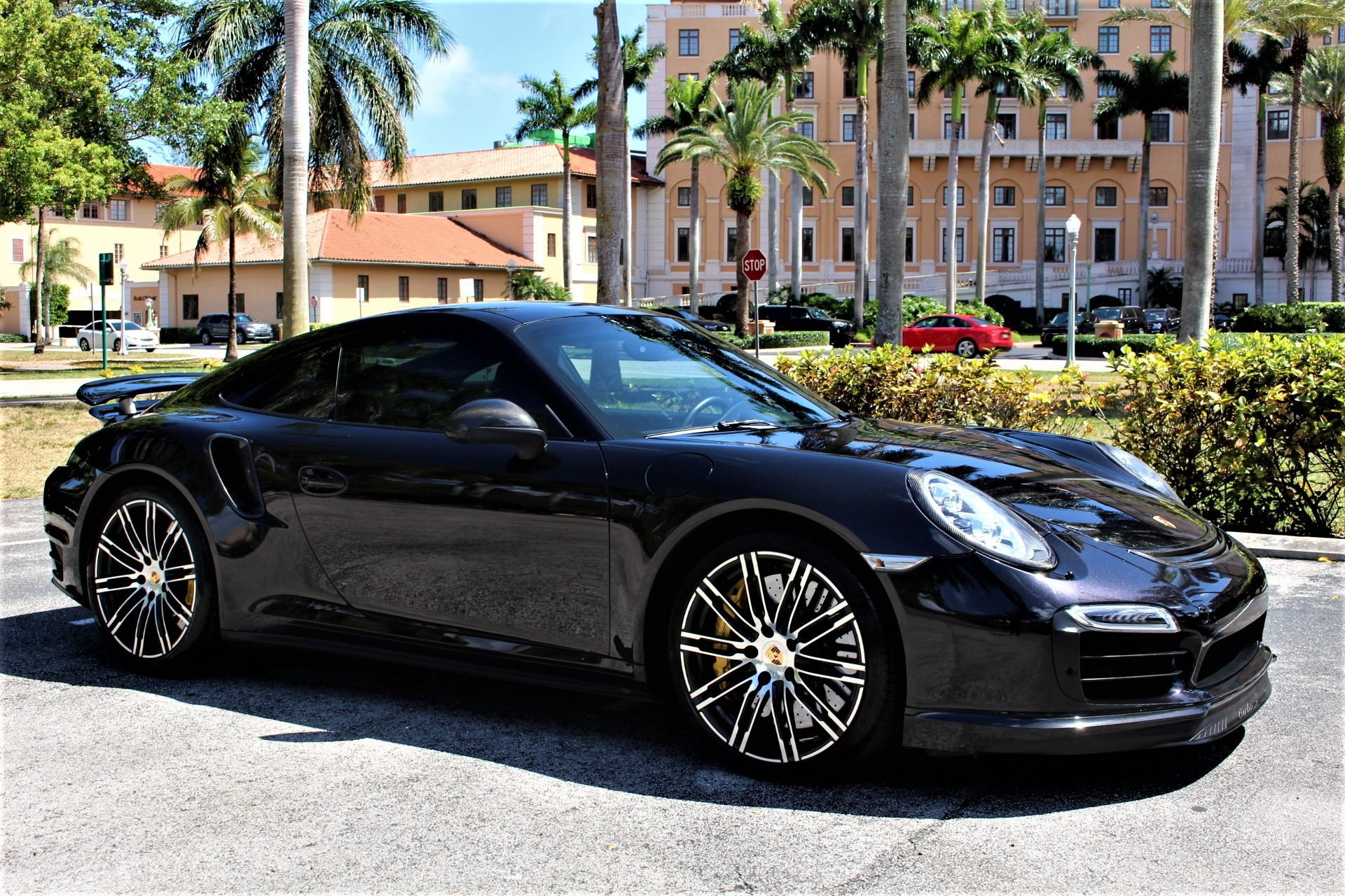 Used 2014 Porsche 911 Turbo S for sale $118,890 at The Gables Sports Cars in Miami FL 33146 3