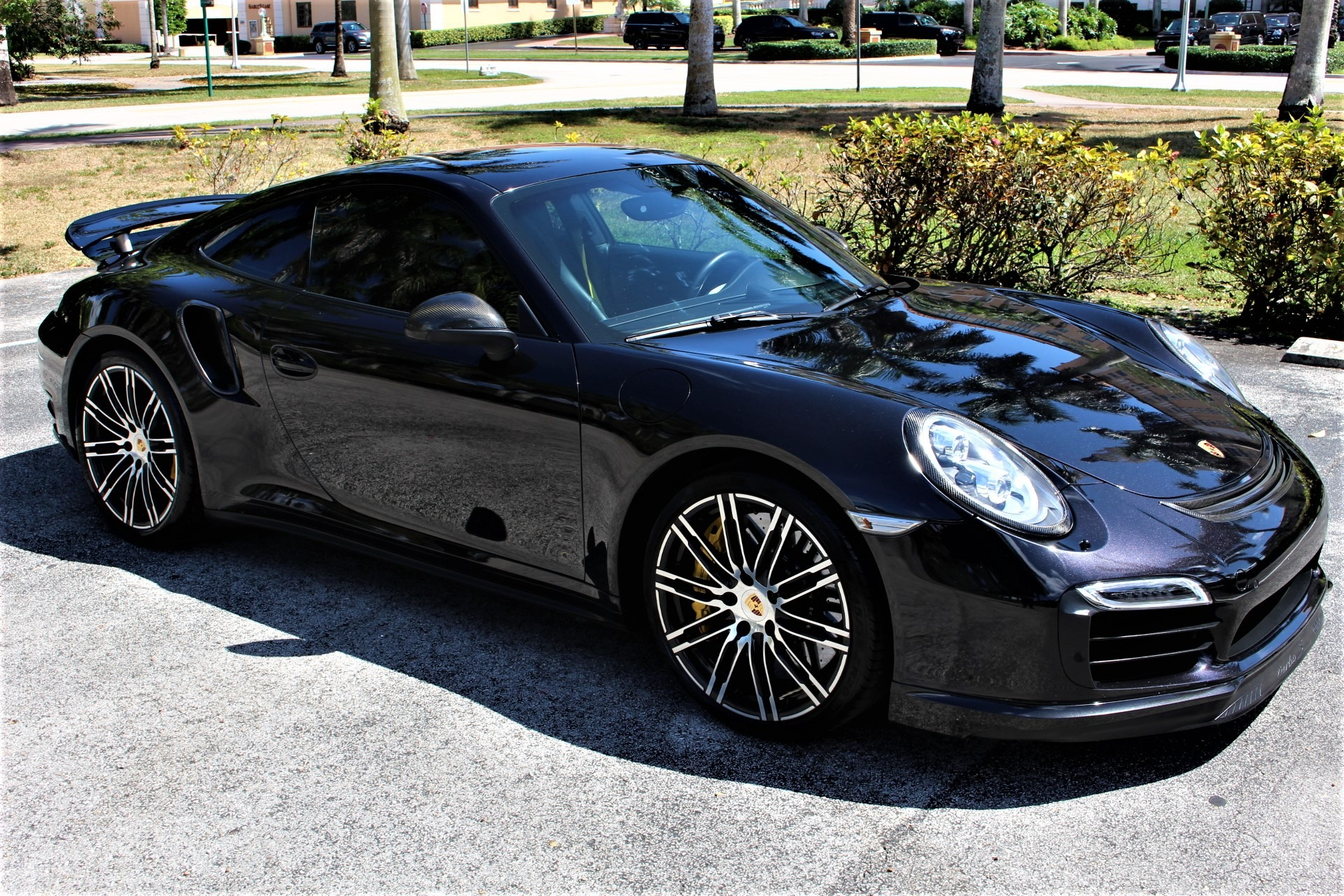 Used 2014 Porsche 911 Turbo S for sale $118,890 at The Gables Sports Cars in Miami FL 33146 4