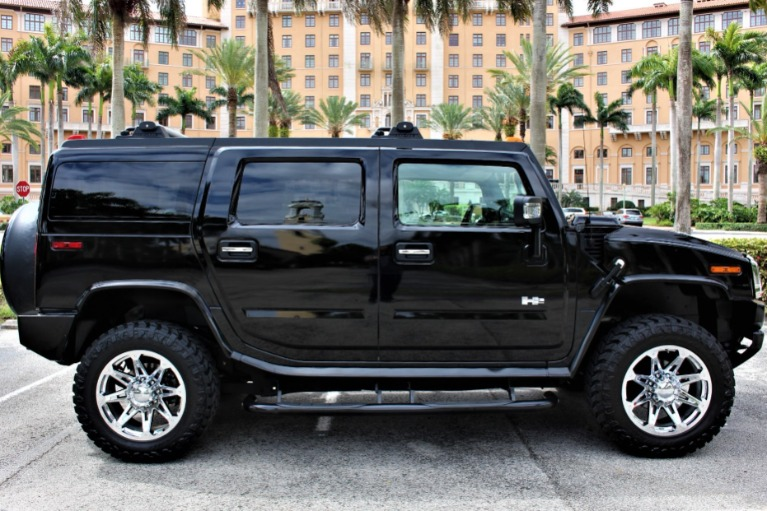Used 2007 HUMMER H2 for sale $49,850 at The Gables Sports Cars in Miami FL