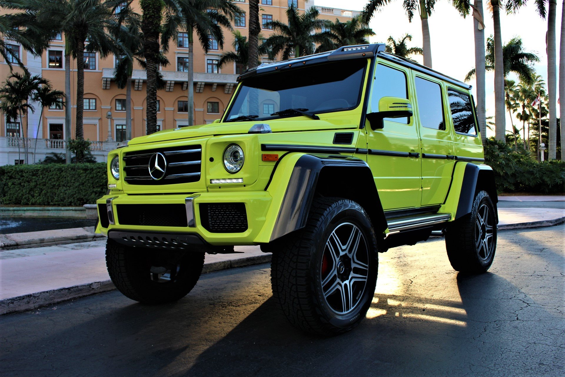 Used 2017 Mercedes-Benz G-Class G 550 4x4 Squared for sale $199,850 at The Gables Sports Cars in Miami FL 33146 4