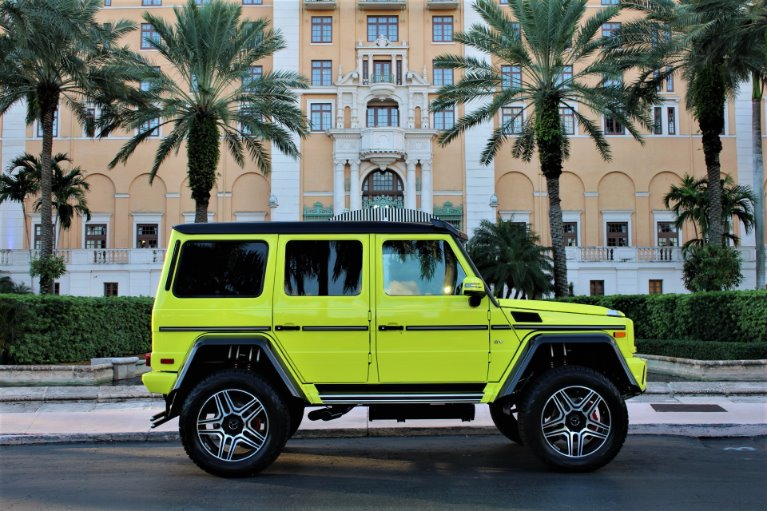 Used 2017 Mercedes-Benz G-Class G 550 4x4 Squared for sale $209,850 at The Gables Sports Cars in Miami FL